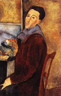 Amedeo Modigliani self portrait